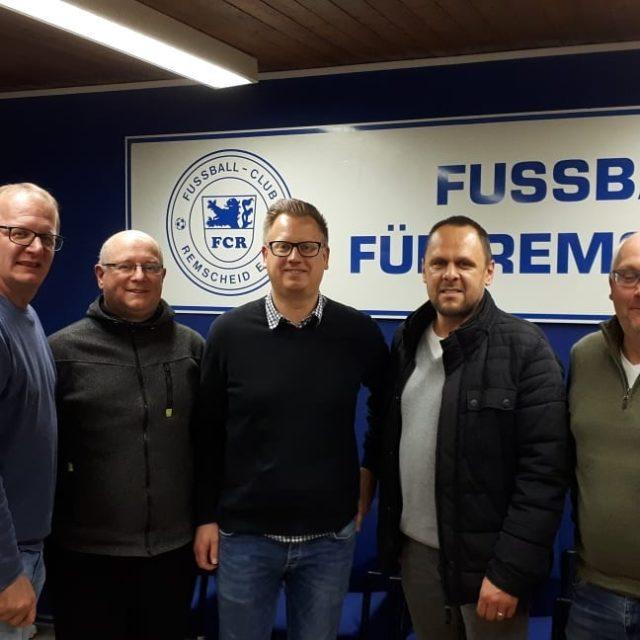 Die Jugendabteilung: Stephan Kerkien, Kurt Kümmerle, Sven Heyer, Markus Hosnjak und Uwe Müller (v.l.). Foto: Thorsten Greuling